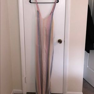 Billabong maxi dress with low adjustable back